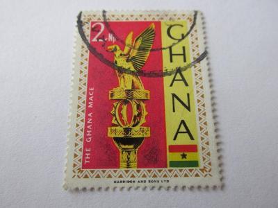 Známky Ghana 1967, Zlaté sošky