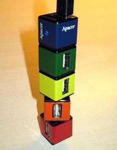 Apacer PH150 otočný externí USB 2.0 hub