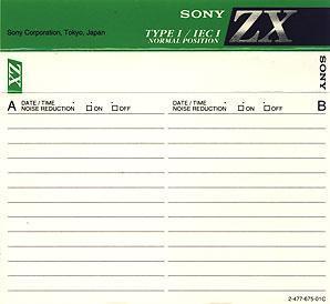 Audio Kazeta SIPOTE ZX 90min. Type 1. Kolekce 6ks