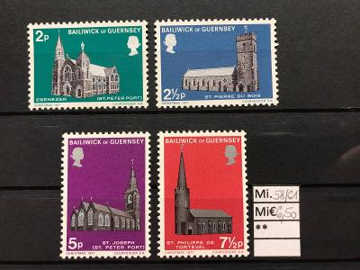 GB, Guernsey, Mi. 58/61