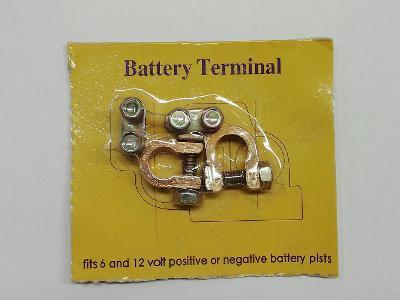 Svorky na baterii
