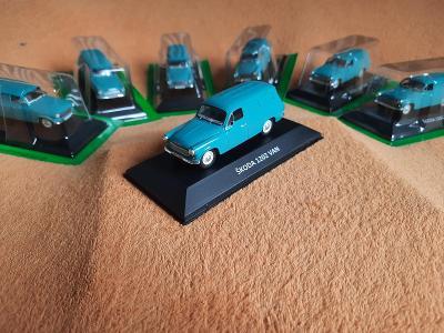 ŠKODA 1202 VAN 1969 (15) sbírkový model 1:43 TOPSTAV + dárek za 100 Kč