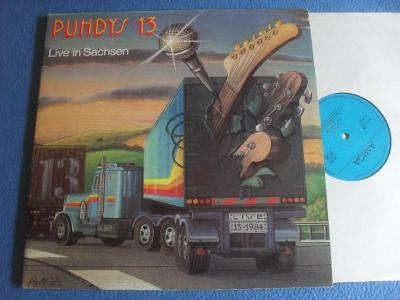 LP PUHDYS - Live in Sachsen 2 LP