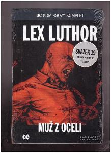 DC komixový komplet Lex Luthor Muž z oceli