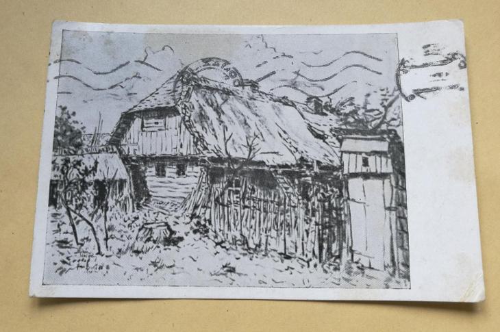 Pohled Chalupa ze Štítovek - Pohlednice