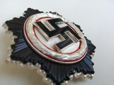 Německý kříž ve stříbře, Wehrmacht, Waffen SS, Top repro