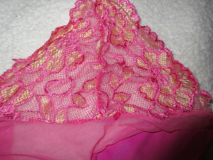 ružový sexi top - Erotické prádlo, obuv