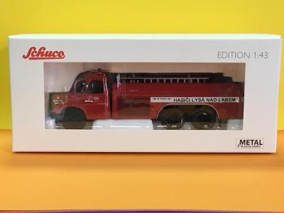 2.Jakost Tatra 148 CAS 32 požární, hasi�i Lysá n/L- 1/43 Schuco (D4-x)