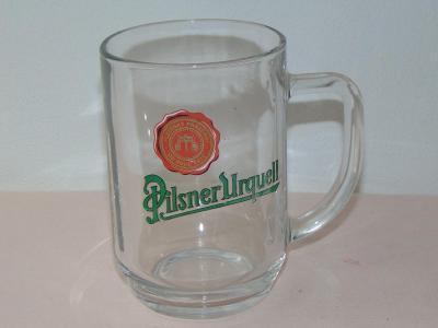 Korbel s logem - Pilsner Urquell