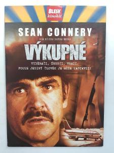 Výprodej DVD! VÝKUPNÉ Sean Connery - akční thriller