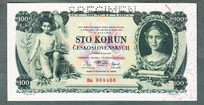 100 korun 1931 serie Ba perf. stav UNC
