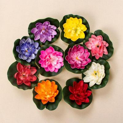 Umělý lotosový květ 8 ks /  různé barvy / 1 ks 30 Kč