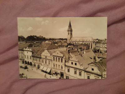 Pohlednice Třeboň,neprošlé poštou