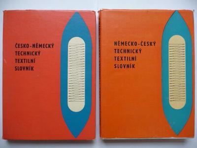 Česko-německý a německo-český technický textilní slovník - ALFA 1969