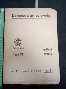 ČKD NAFTOVÉ MOTORY,dokumentační zpravodaj 1969