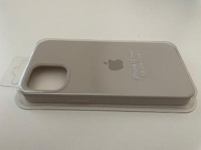 iPhone 12 mini silikonový obal, case, Stone