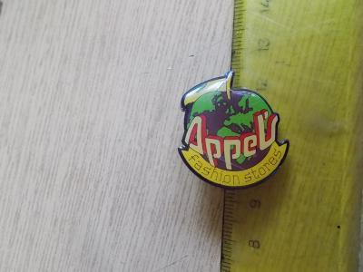 Starší připínací odznak smalt Appels fashion Jablko