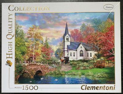 Puzzle  CLEMENTONI - Barvy podzimu - 1500 dílků