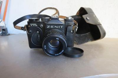 Starý fotoaparát Zenit