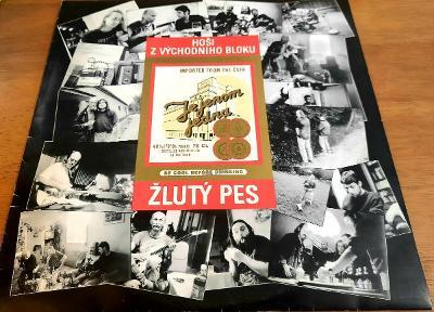 LP Žlutý Pes- Hoši z východního bloku. Sugar Records. 1992. TOP Stav.