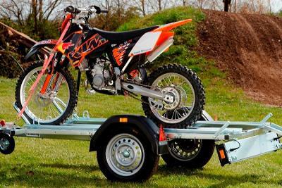 Brenderup MC 2, 750 kg - přepravník motorek a čtyřkolek