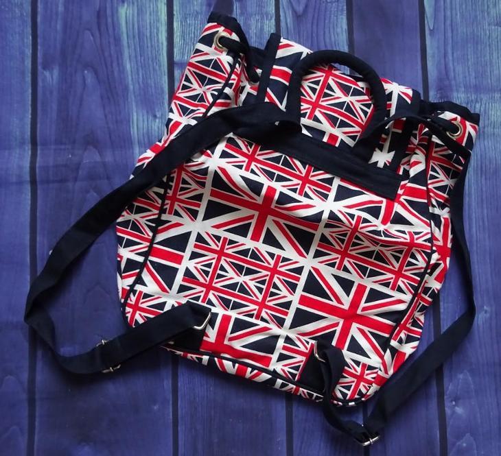 Velká Británie Vlajka batoh/ruksak /nový/ - Tašky, batohy, kufry