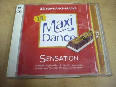 2 cd-set MAXI DANCE SENSATION 18