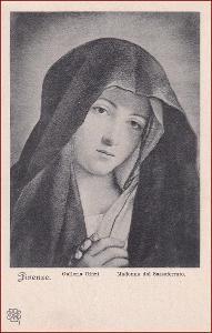Madonna * modlitba, žena, svatý, náboženský motiv * X078