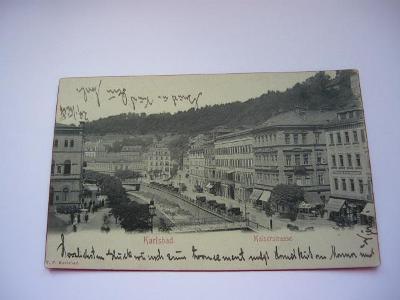 Karlovy Vary-Karlsbad prošlá
