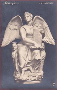 Socha (umělecká plastika) * anděl, svatý, náboženský motiv * X081