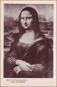 Mona Lisa * žena, portrét, umělecká * X090