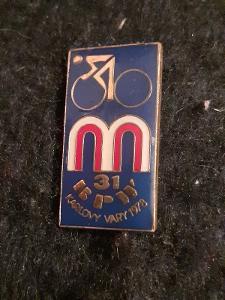 Odznak BPW ZÁVOD MÍRU 31.ROČNÍK KARLOVY VARY 1978