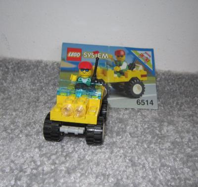 Lego 6514 City/system, Džíp z 90 let