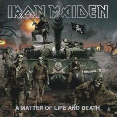 IRON MAIDEN MATTER OF LIFE AND DEATH  CD BOX