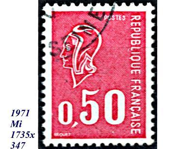 Francie 1971, Mariana , malá hlava