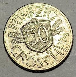 50 Groschen 1955