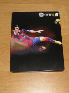 FIFA 15 - 2x disk + SteelBook [PlayStation 4, XBOX ONE]