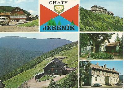 Jeseník - chaty RaJ, autobus, Vřesová studánka, Jiřího na Šer 3-4447°°