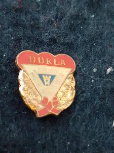 Odznak Dukla Jihlava mistr ČSSR 1969 - lední hokej.