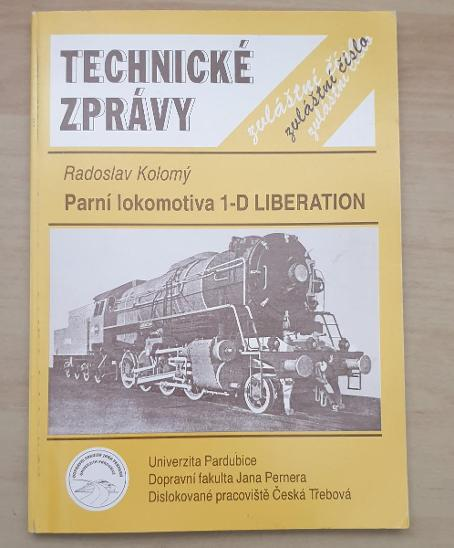 Parní lokomotiva 1-D Liberation - Technické zprávy - Ostatní