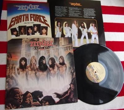 💥 LP: ANGEL - WHITE HOT, top stav,  Příloha, 1.press USA 1977 (Kiss)