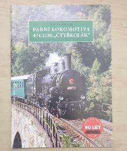 Parní lokomotiva 434.2186 Čtyřkolák