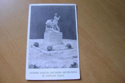Praha-Michle-pomník-1.svět.válka 1919