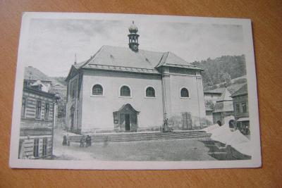 Malé Svatoňovice-okres Trutnov - poutní Kaple -1925