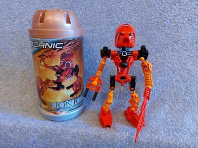 Lego Bionicle 8534 Toa Tahu (2001) - Všechny díly + krabice