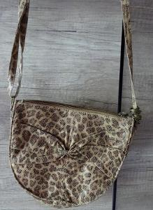 BERSHKA Kabelka Leopard