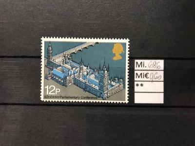 GB, Velká Británie, Mi. 686