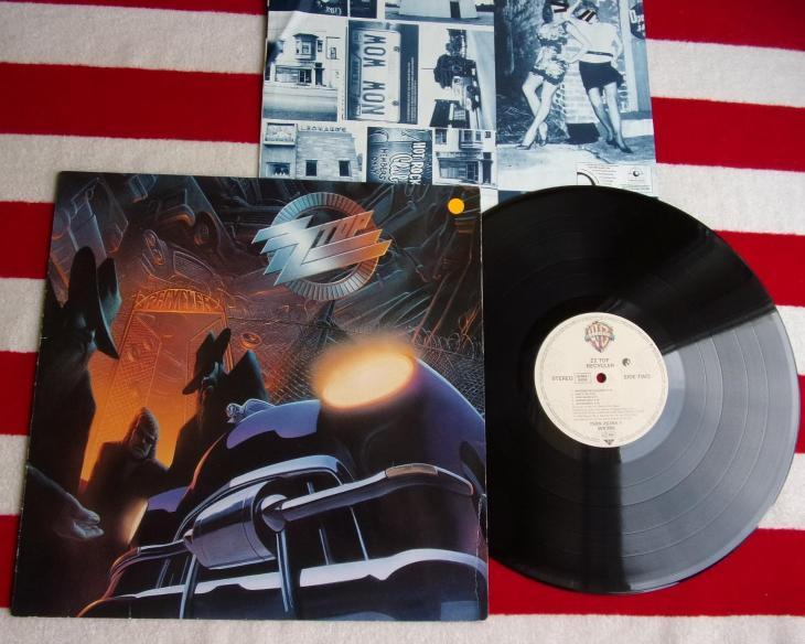 💥 LP: ZZ TOP - RECYCLER, jako nová, 1st pressing Germany 1990 - Hudba