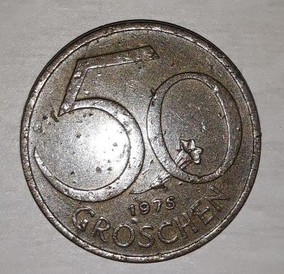 50 GROSCHEN 1975