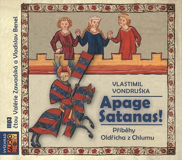 CD mp3 digipak Vlastimil Vondruška - Apage Satanas ! (303 minut) - Hudba